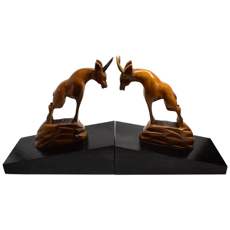 Pair of 1930s Art Deco Bookends