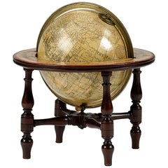 Early 19th Century Terrestrial Table Globe