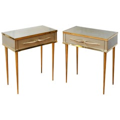 Pair of Nightstands by Studio Glustin