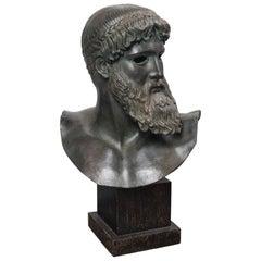 Plaster Bust of Poseidon