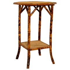 19th Century French Bamboo Table