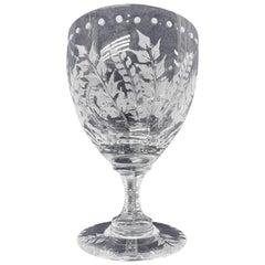 Fern Goblet by William Yeoward Crystal Set of Twelve