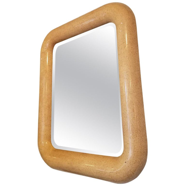 Awesome Karl Springer Style Mirror