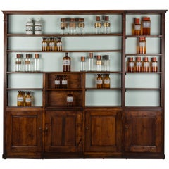 French Louis XVI Style Apothecary Shelves