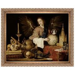 Allegory of Vanity, After Baroque Oil Painting by Antonio de Pereda