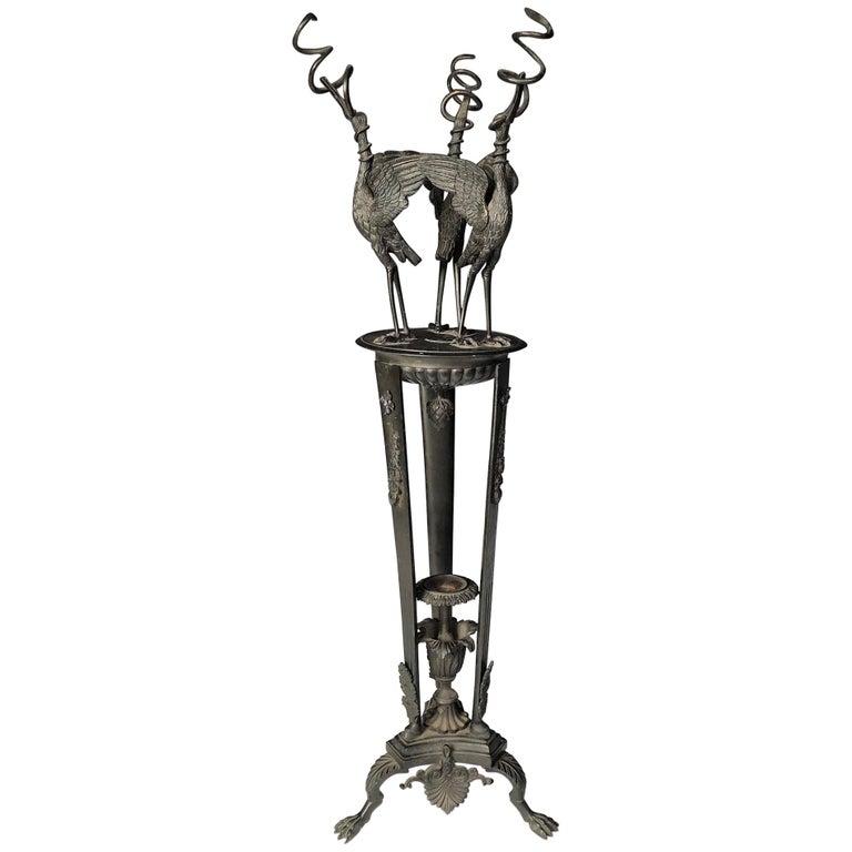 19th Century Italian Grand Tour Oil Lamp For Sale