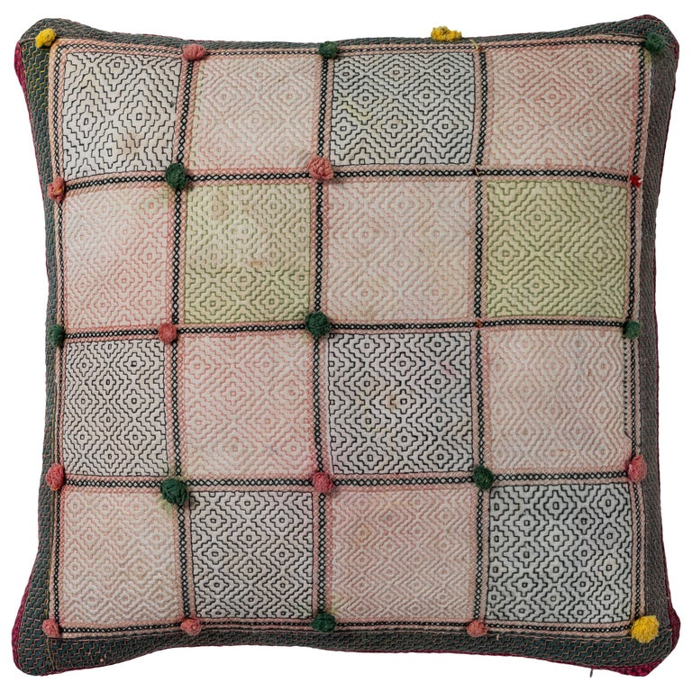 Swat Valley Embroidery Pillow