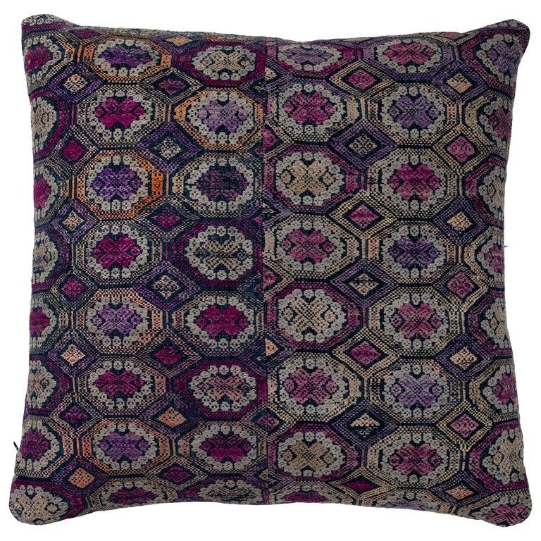 Vietnamese Hill Tribe Brocade Pillow