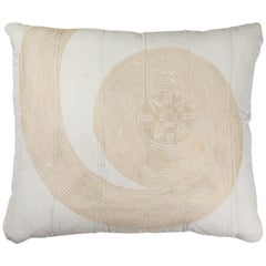 African Embroidery Pillow
