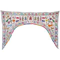 Indian Embroidered  Archway Turan