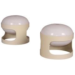 Pair of Joe Colombo Table Lamp