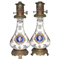 Italian Porcelain Lamps