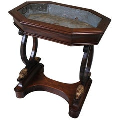 Fine French Empire Period Rosewood Jardinière
