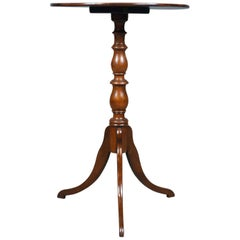 Antique Wine Table, Regency, Circular, Side, Mahogany, circa 1820