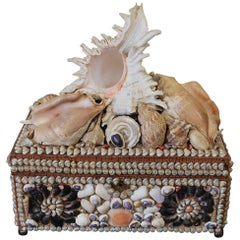 Shell Decorated Jewellery Box