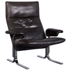 De Sede Ds 2030 Designer Armchair Leather Black