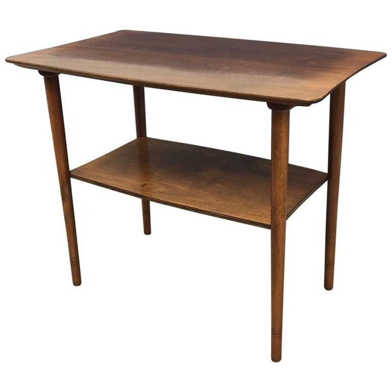 Small Danish Oak Coffee Table By Kurt Østervig For Jason 1950s