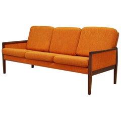 Vintage Sofa Mahogany Classic Retro