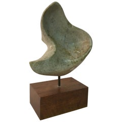 1960s Modernist Organic Abstract Sculpture