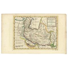 Antique Map of the Persian Empire 'Persia/Iran' by H. Moll, circa 1745