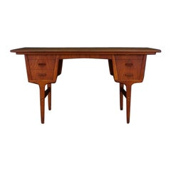 Vintage Writing Desk Danish Design Teak Retro