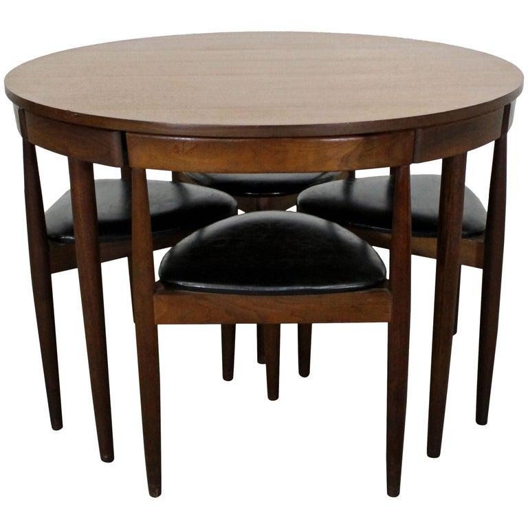 Midcentury Danish Modern Hans Olsen Teak Roundette Dining Set
