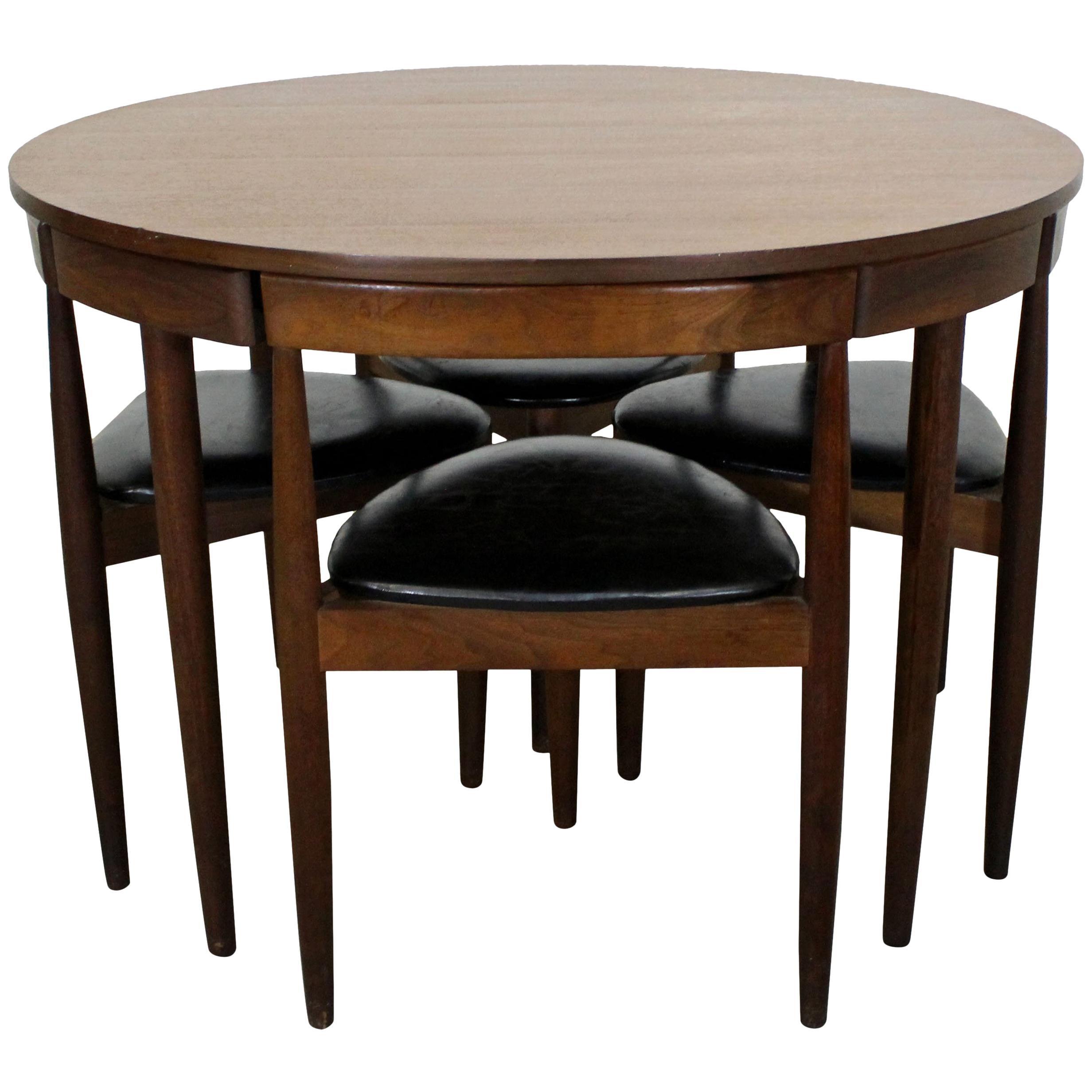 Delicieux Midcentury Danish Modern Hans Olsen Teak Roundette Dining Set For Sale