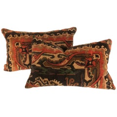 Custom Pair of Amsterdam School Pillows, circa 1915-1927
