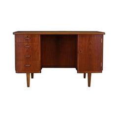 Danish Design Writing Desk 1960-1970 Teak Classic