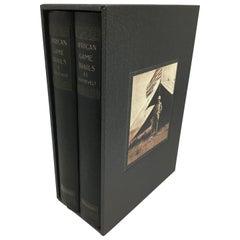African Game Trails, Theodore Roosevelt, 2 Volume Set, 1926