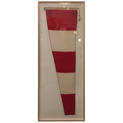 Professionally Framed WW II Nautical Signal Flag