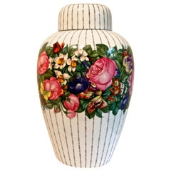 Large Nymphenburg Prof. Josef Wackerle Porcelain Vase