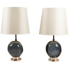 Pair of Table Lamps by Roberto Rida, Italy, 2018