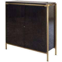 Antwerp Credenza by Billy Cotton in Walnut and Brushed Brass