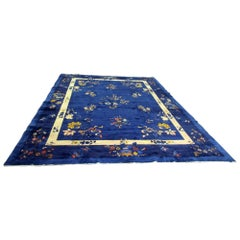 "Art Deco ""Nichols"" Chinese Manchester Wool Roomsize Carpet"