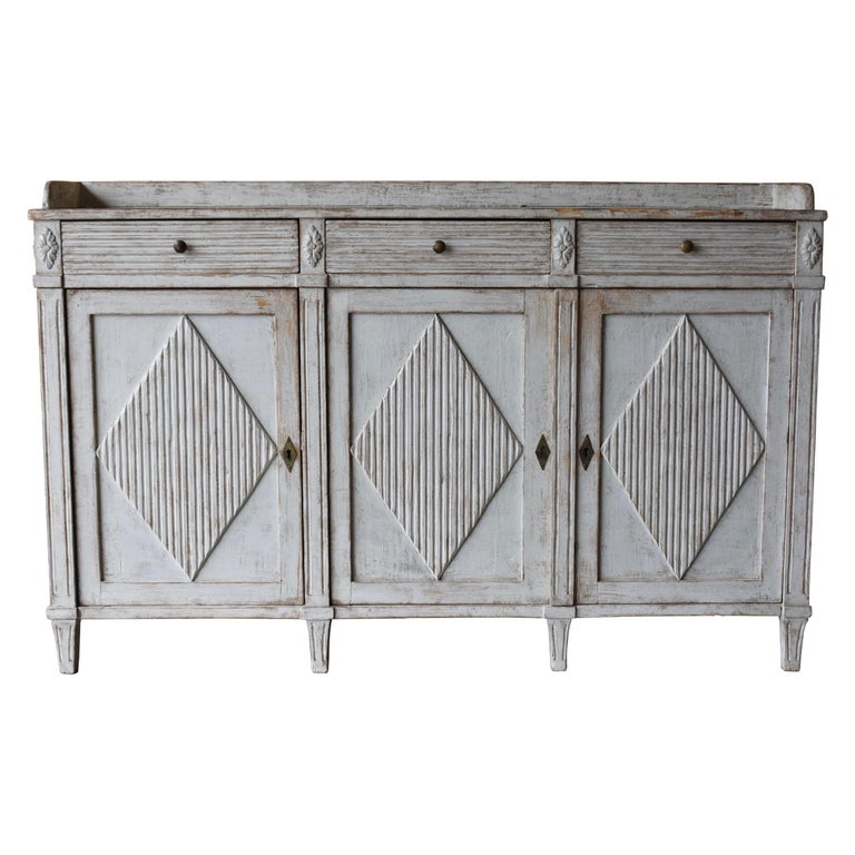 Early 19th Century Swedish Sideboard