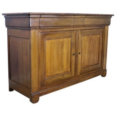 Cherry Louis Philippe Enfilade Custom Made of Old Wood