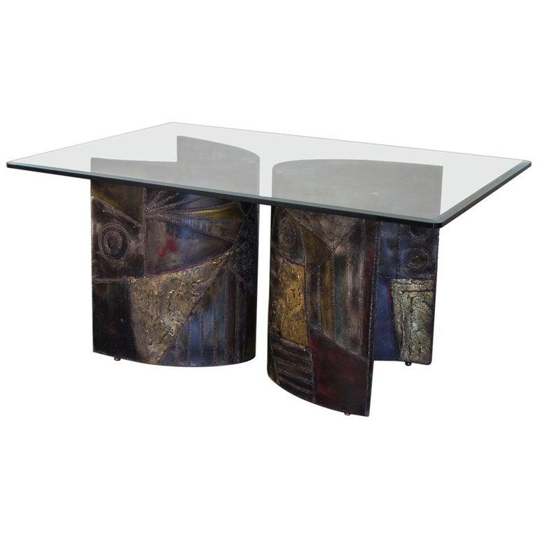Paul Evans PE-24 Pedestal Table for Directional