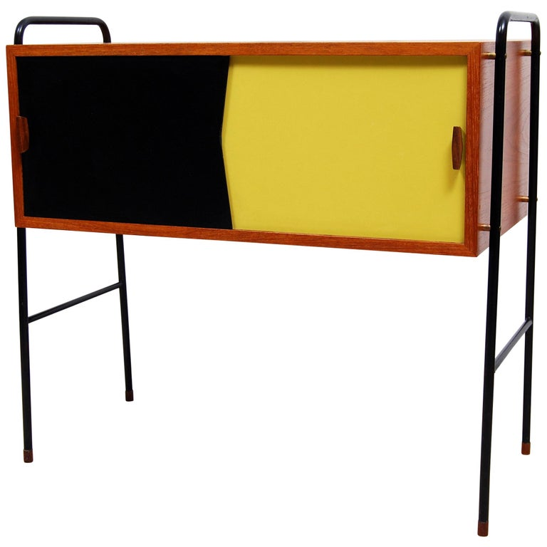 Swedish Mid-Century Modern Teak Sideboard, 1950s