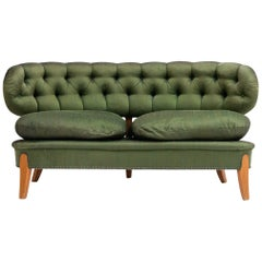 Swedish Sofa from the Mid-1900s, Designed by Otto Schultz