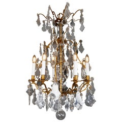 French Crystal Chandelier, circa 1880