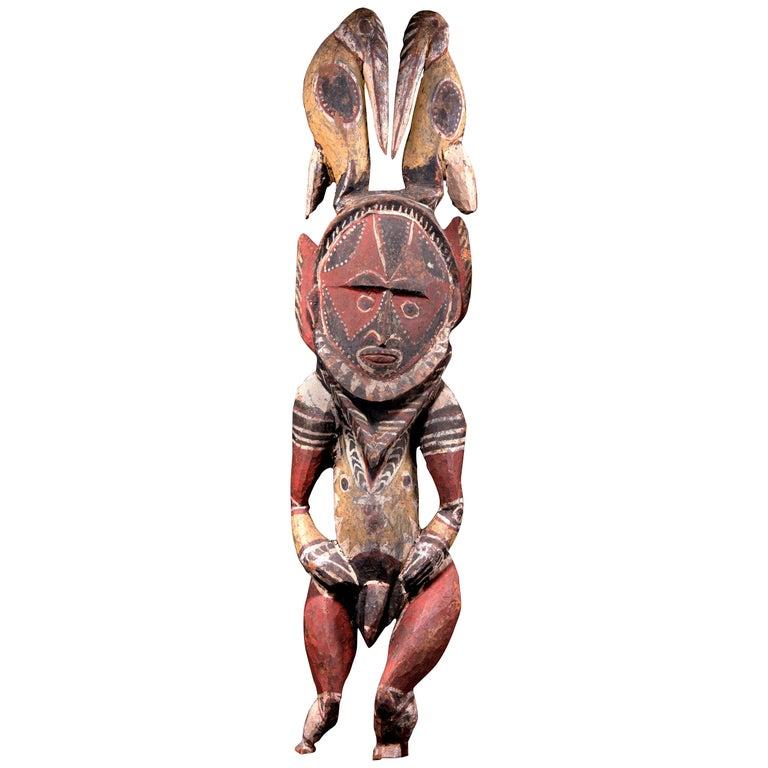Abelam Ancestor Figure, Papua New Guinea, 20th Century
