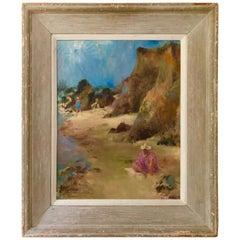 Seaside Painting, by Bernard Arnest, 1945