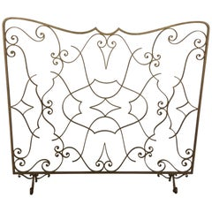 Art Deco Fire Screen