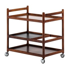 Henning Korch Trolley in Rosewood by CFC Silkeborg in Denmark