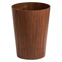 Martin Åberg Large Trash Can in Teak Produced by Servex in Sweden