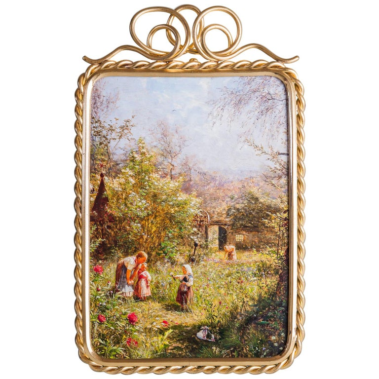 Victorian Wood And Gilt Antique Picture Frame Circa 1880 At 1stdibs