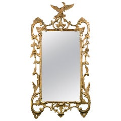 Early George III Giltwood Wall Mirror
