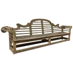 Lutyens Garden Bench, Early 20th Century