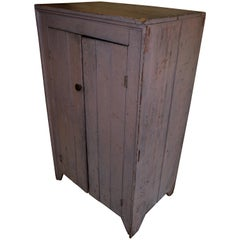 Early 1800s Cupboard for Parlor, Kitchen, Pantry with Lockbox Inside